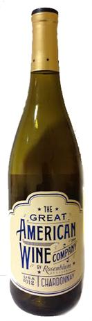 The Great American Wine Company Chardonnay